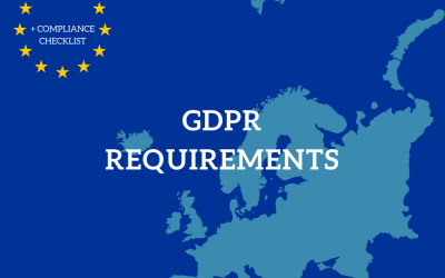 Best Practices on Meeting GDPR Requirements